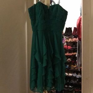 Liliana green strapless size 10 dress